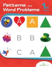 Problem solving find a pattern second grade